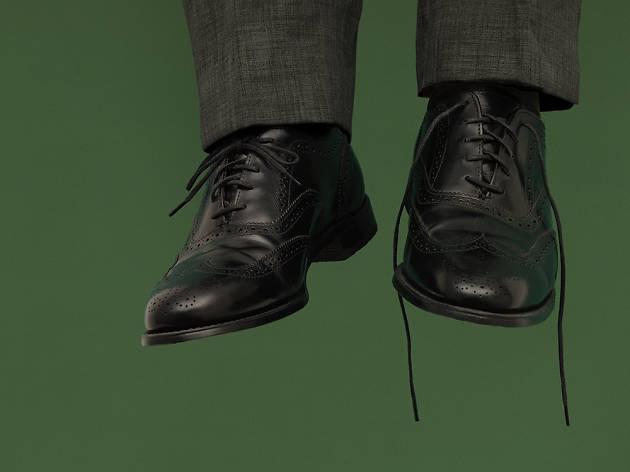 Watch 'Hangmen' at the Wyndham Theatre