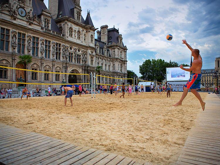 Paris Plages, côté Sport