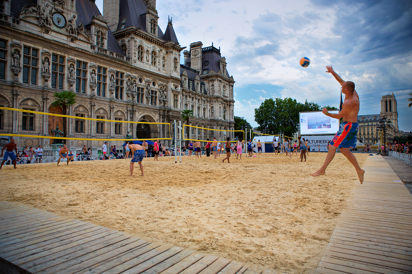 Paris plages 2015 i du 20 juillet au 18 ao t - Piscine plage paris asnieres sur seine ...