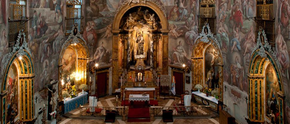 Descubrir una joya del barroco en plena Malasaña
