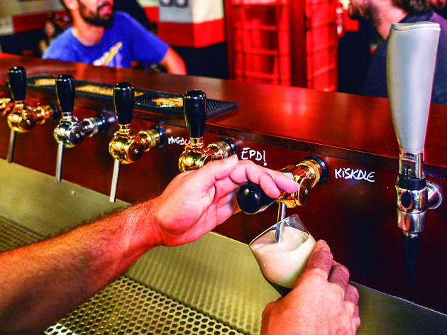 Best craft beer bars in town