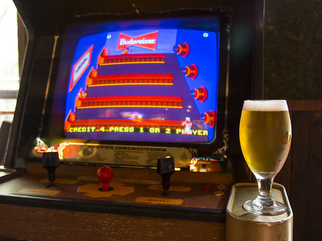Drink and play at arcade bars