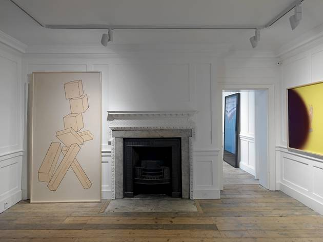 (Larry Johnson: 'On Location' exhibition view. Photo: Marcus J Leith)