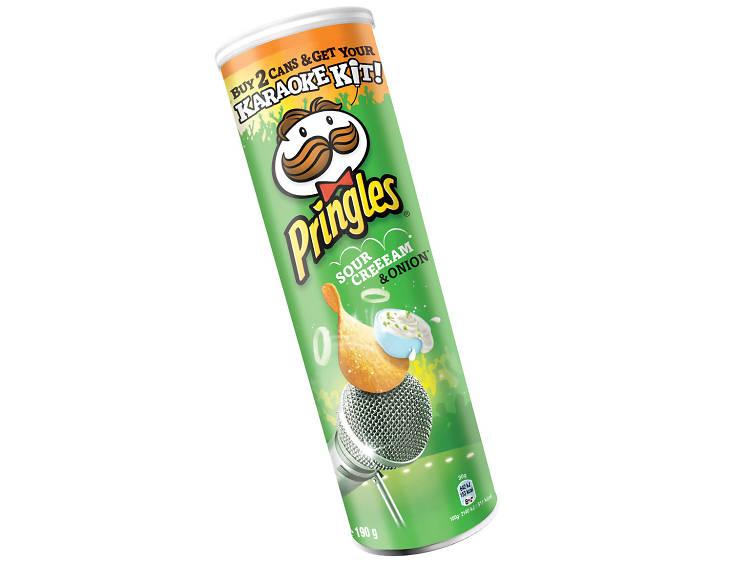 Sour Cream and Onion Pringles