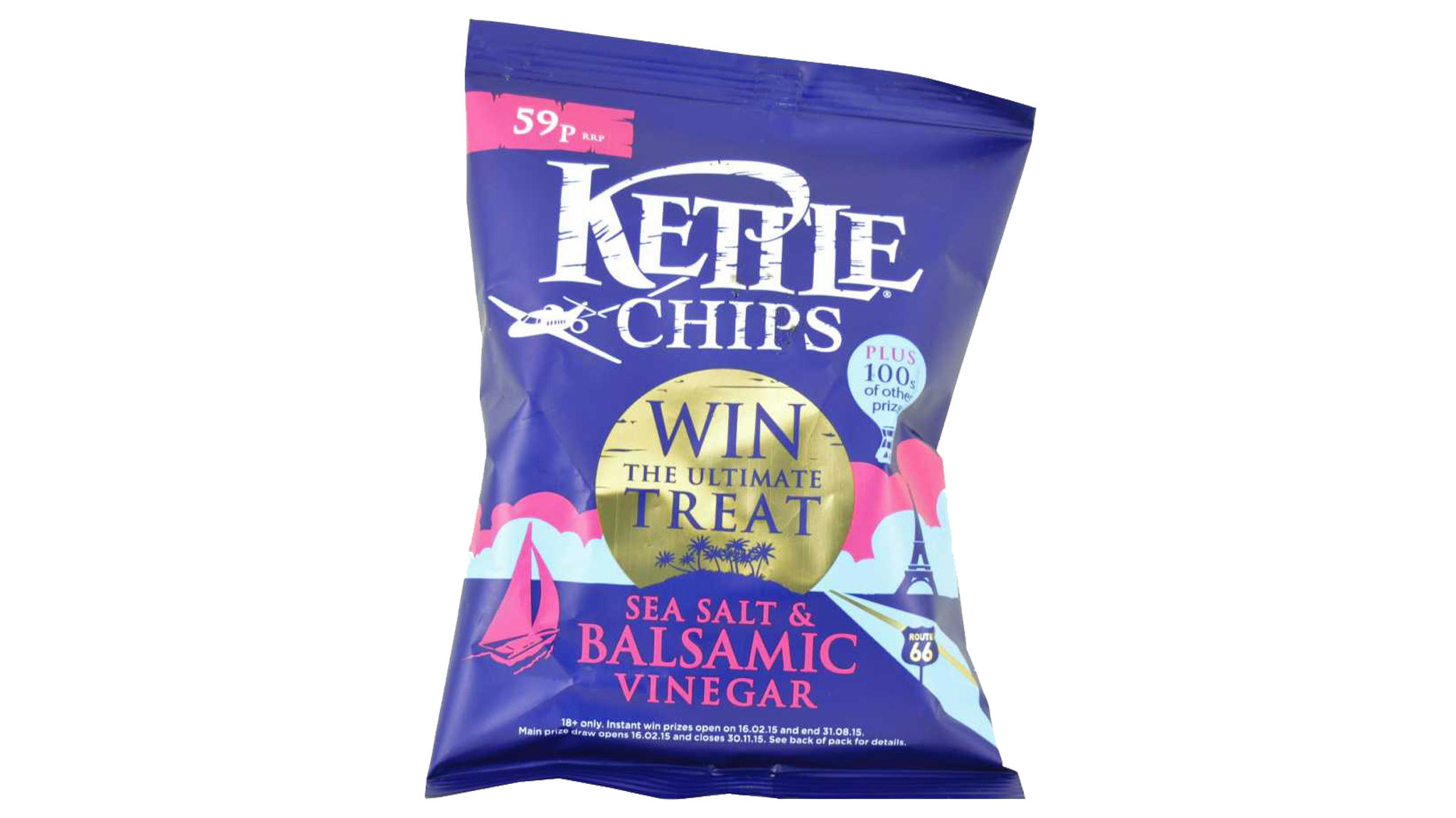 Sea Salt & Balsamic Vinegar Kettle Chips