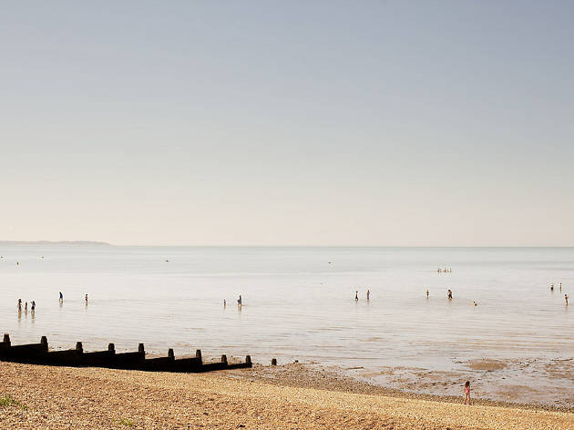 Tankerton Beach and The Street, Whitstable, Kent
