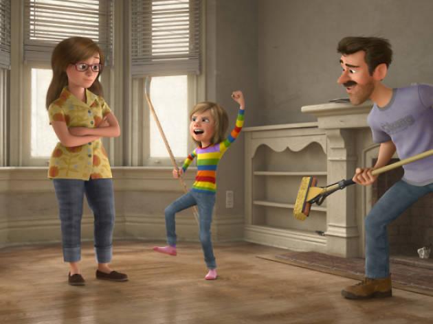 Todo gira alrededor de una familia, como 'Los increíbles'