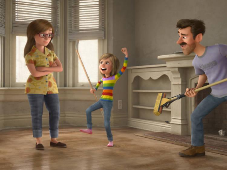 Tot gira al voltant de la família, com 'Els Increïbles'
