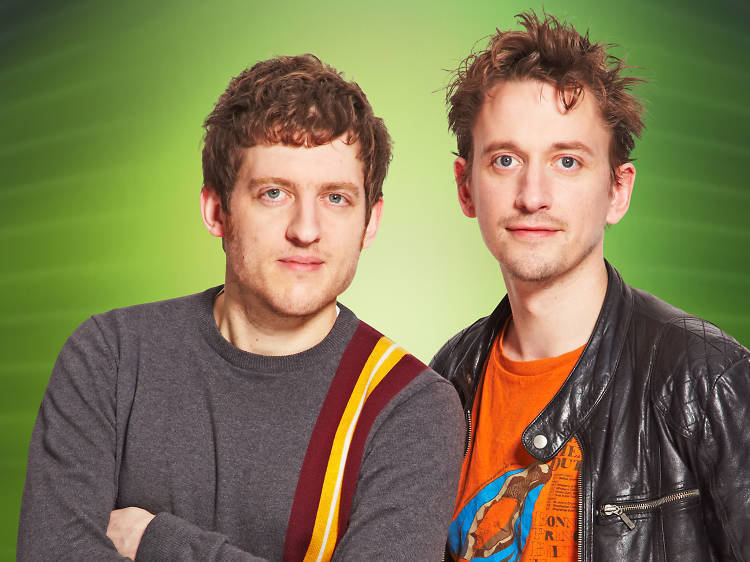 Elis James and John Robins on XFM Podcast