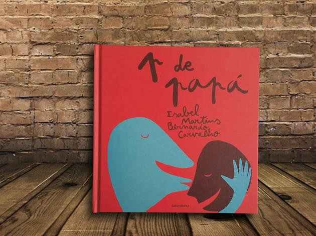 Libro para niños Con P de papá