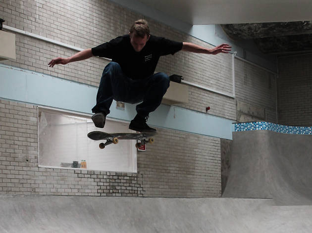 Ramping up the excitement: inside the Campus Pool skatepark