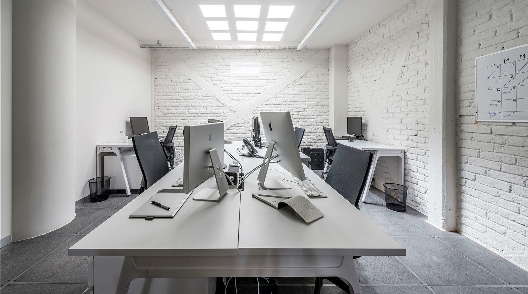 instalaciones del coworking Terminal 1
