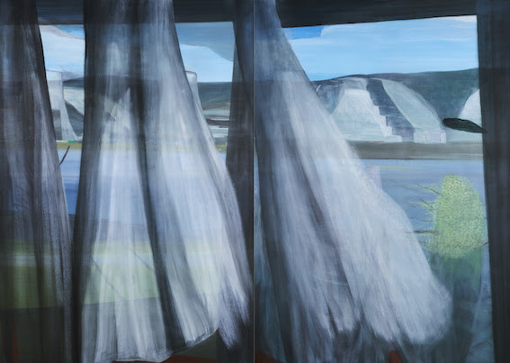Marc Desgrandchamps : Ombres blanches