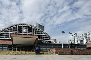 Exterior shot of Manchester Central