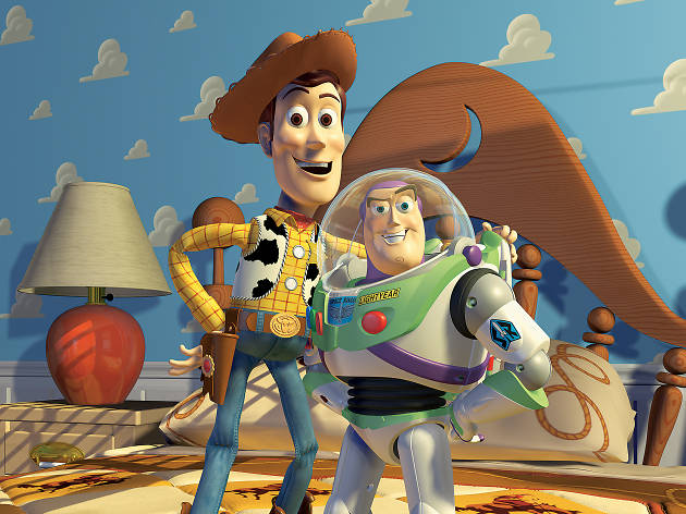 Woody & Buzz Lightyear from 'Toy Story'