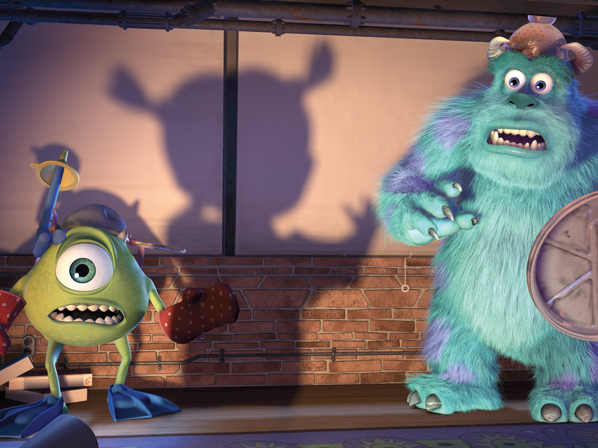 Mike & Sully from 'Monsters, Inc.'