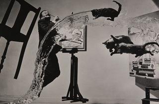 (Philippe Halsman, 'Dali Atomicus', 1948 / © Philippe Halsman Archive / Magnum Photos / Fundacio Gala-Salvador Dali, Figueres, 2015)