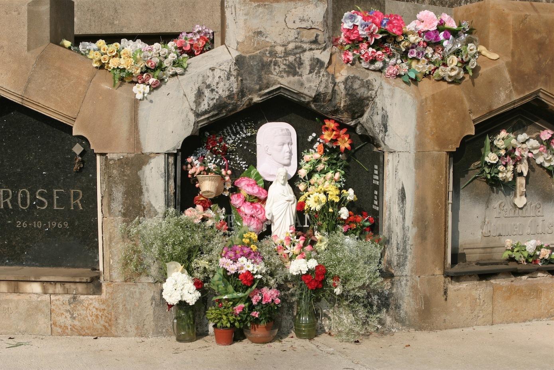 Santet del cemeniri de Sant Andreu
