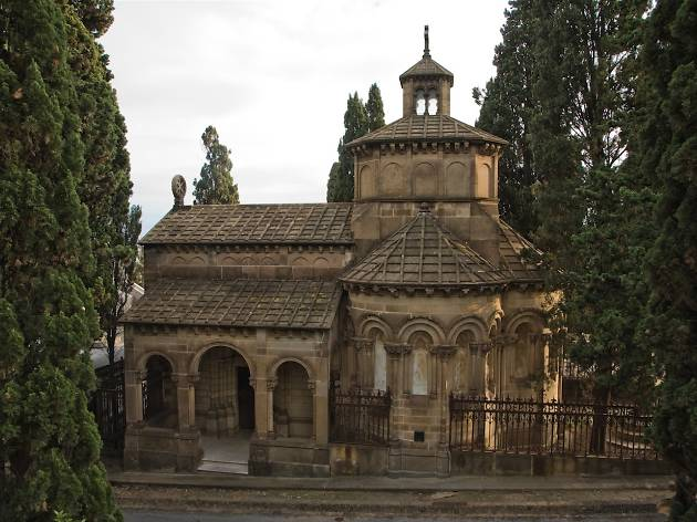 Panteó Amatller, Cementiri de Montjuïc