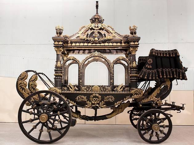 Col·lecció Carrosses Fúnebres, Cementiri de Montjuïc