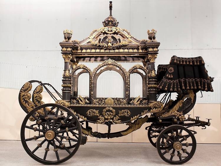 Colección de carrozas fúnebres