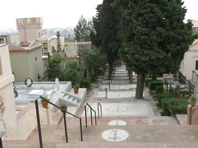 Via Crucis, Cementiri de Sant Gervasi