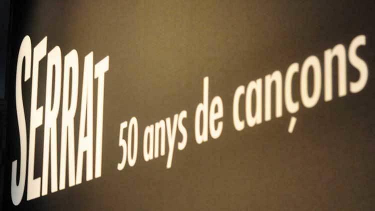 50 anys de cançons Serrat