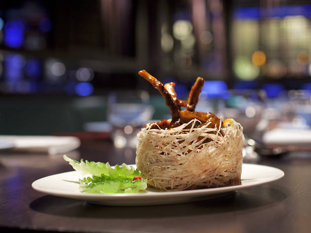 hakkasan, mayfair, resturant, chinese food, food, dish, Oxford street restaurants