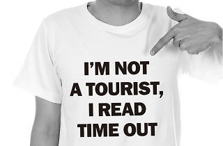 Samarreta I'm not tourist, I read Time Out