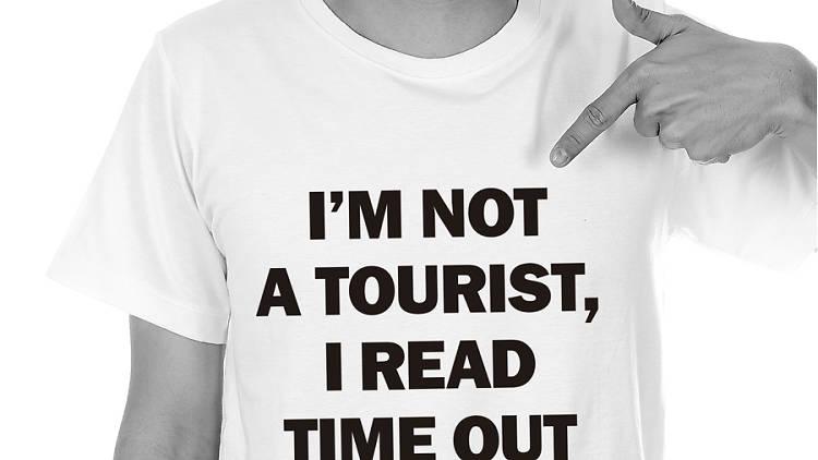 Samarreta I'm not tourist, I read Time Out