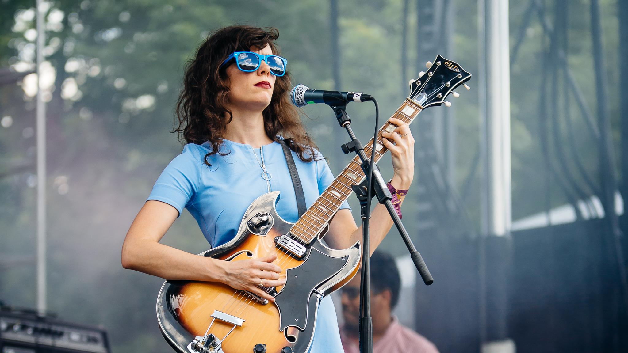 Natalie Prass took the stage at Union Park on the first day of Pitchfork Music Festival, July 17, 2015.