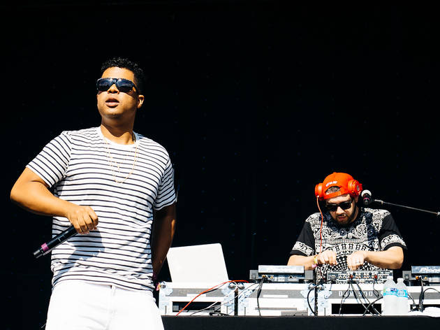 ILOVEMAKONNEN took the stage at Union Park on the first day of Pitchfork Music Festival, July 17, 2015.
