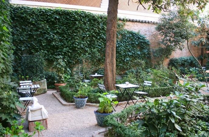 Café del Museo del Romanticismo