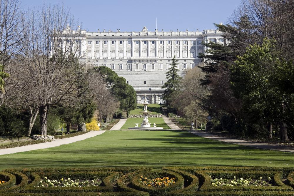 Observar a los pavos reales en los Jardines del Campo del Moro