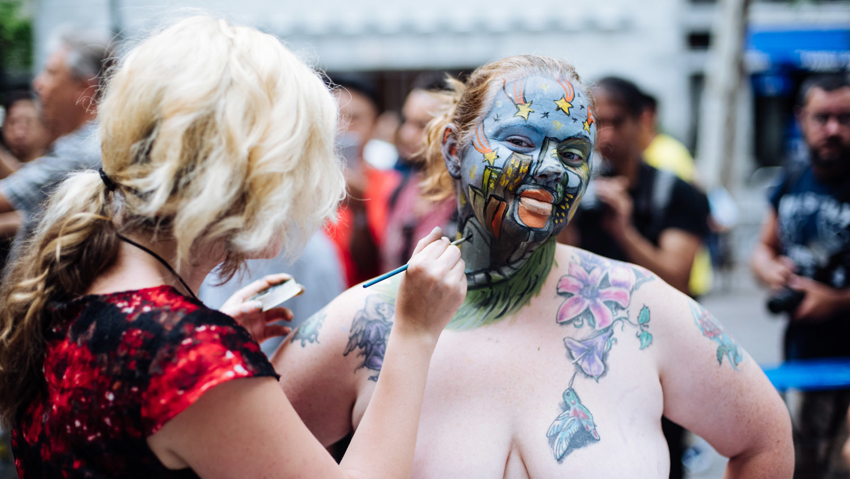 Amazing bodypainting festival 2016 - Body Painting