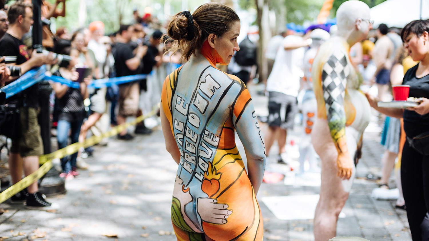 See Stunning Photos From Nyc Bodypainting Day