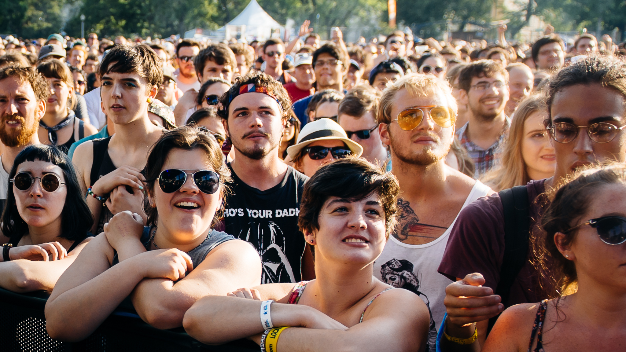 Pitchfork 2015, Saturday: Faces in the crowd
