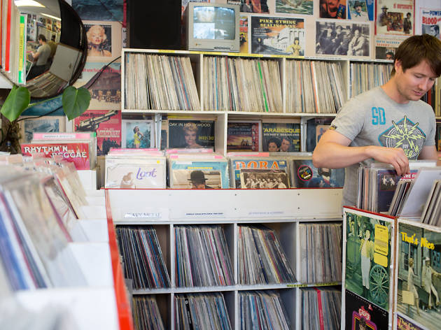 Record Album Shop