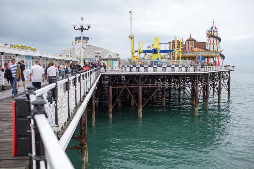 Kinks Video Brigton Pier