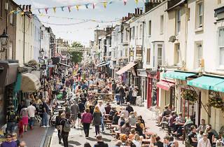 North Laine, Brighton.