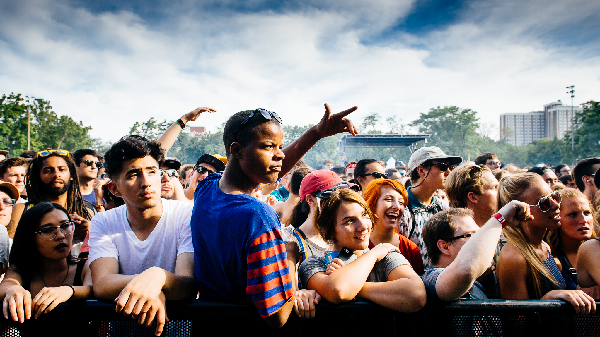 Pitchfork 2015, Sunday: Faces in the crowd