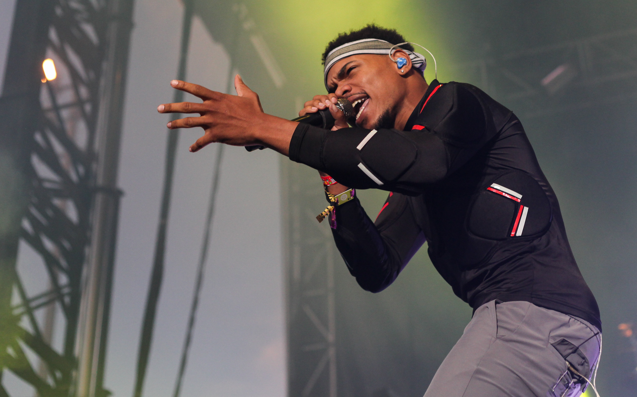 Chance The Rapper helped close out the weekend, playing to a sold out crowd on Sunday at Pitchfork Music Festival, July 19, 2015.