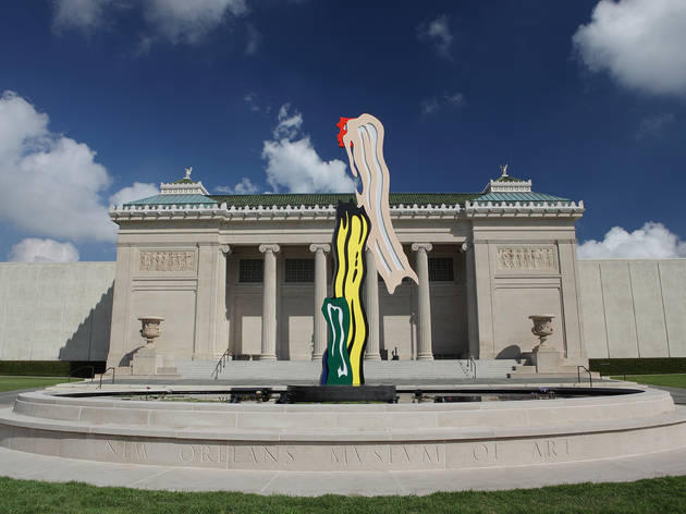 See art inside and out at the New Orleans Museum of Art