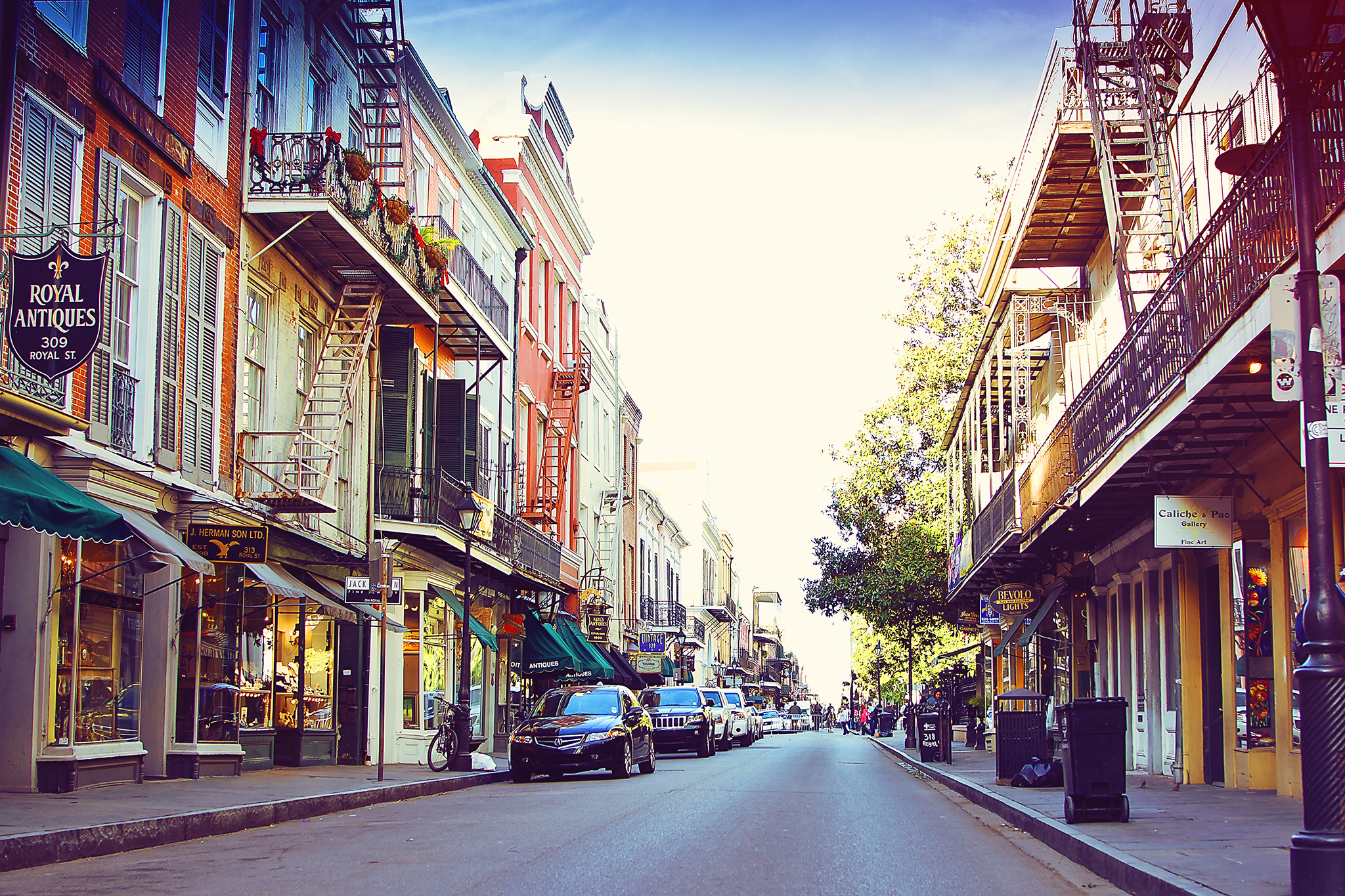 Royal Street, French Quarter