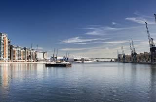 Royal Victoria Docks Open Water Swimming
