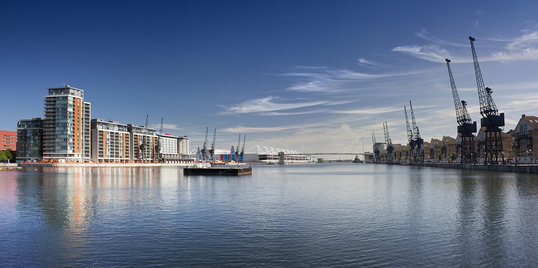 London's Royal Docks Open Water Swimming