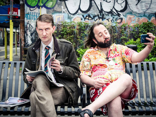 Camden Fringe: Harry U Eldrich/Alex Martini – Pasta With Ketchup