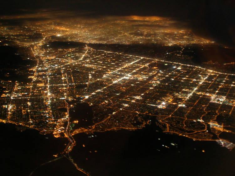 Los Angeles has no center.