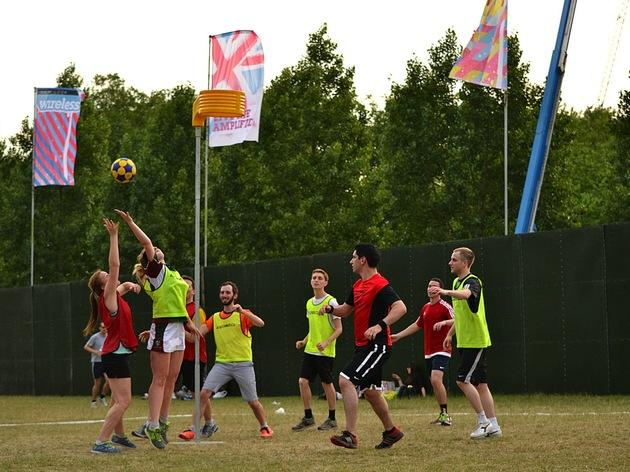 Korfball Training