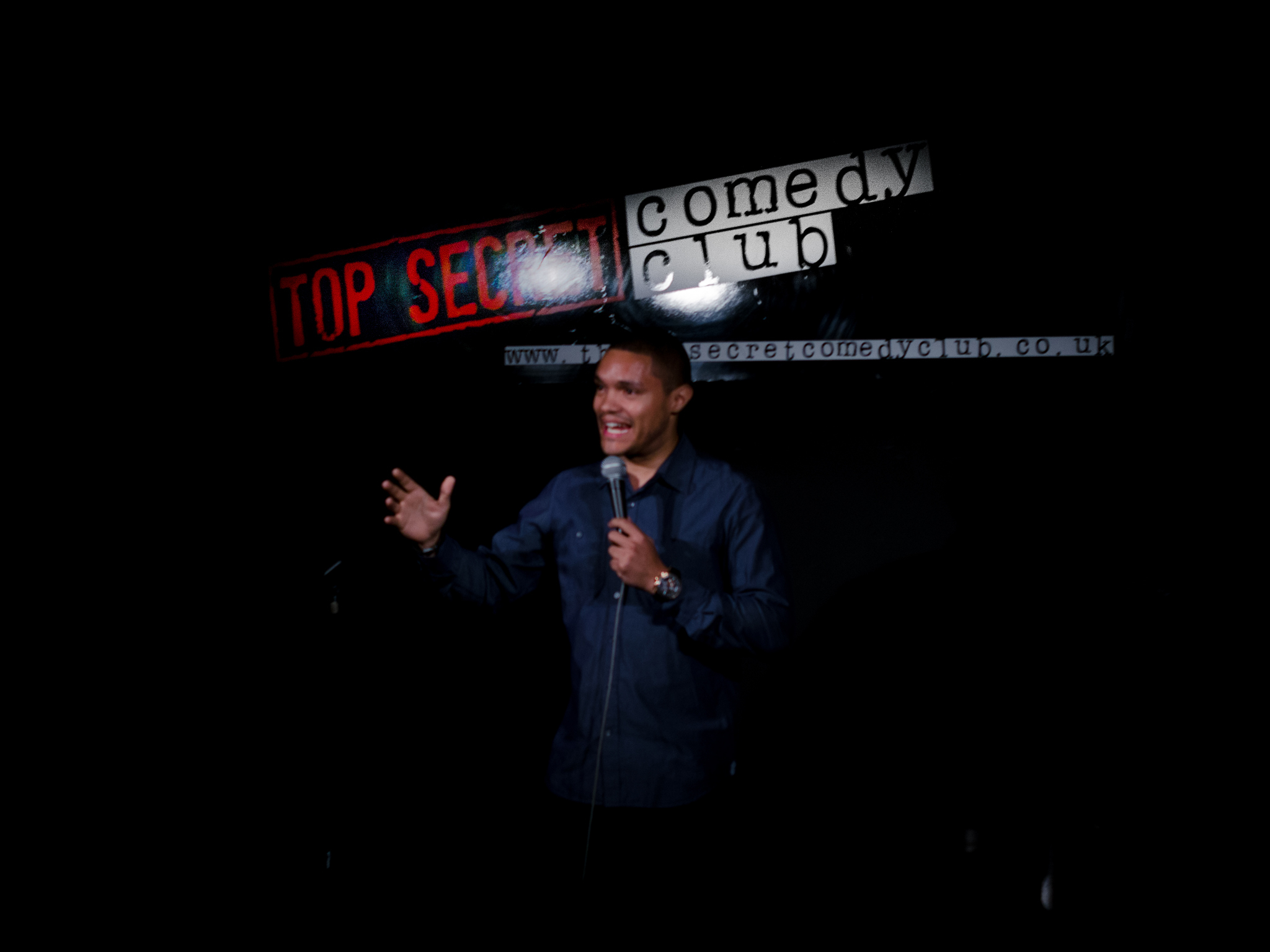 The Top Secret Comedy Club